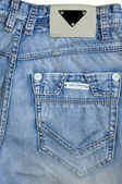 Pockets of jeans. — 图库照片