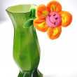 Smiling flower in a vase. — Stock Photo #10443127