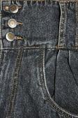 Pocket of jeans. — Stock Photo
