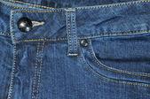 Taschen der jeans. — Stockfoto