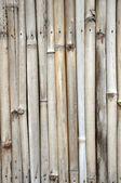 竹製のフェンス. — ストック写真