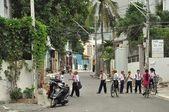 Pioneers. Vietnam. — Stock Photo