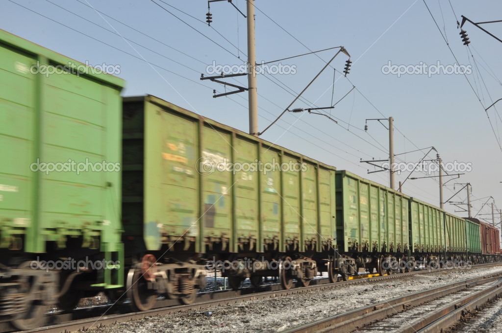 Railway.  — Stock Photo #9351643