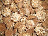 クッキー。テクスチャ. — ストック写真