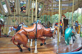 Children's Carousel. — Stock Photo