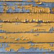 Stock Photo: Old painted wooden board.