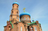 Barnaul. Pokrovsky Cathedral. — Stock Photo