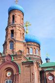 Catedral pokrovsky. barnaul. — Foto de Stock
