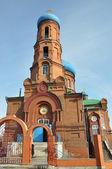 Barnaul. Pokrovsky Cathedral. — Stock Photo
