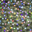 Deliberately defocussed lights on christmas tree — Stock Photo #9783964