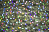 Deliberately defocussed lights on a christmas tree — Stock Photo