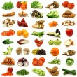 Stock Photo: Collection of fresh vegetables