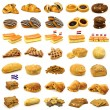 Stock Photo: Collection of freshly baked pastry