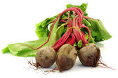 Beetroots with foliage — Stock Photo