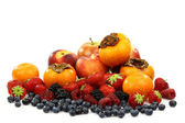 Colorful summer fruit collection — Stock Photo