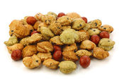 японская закуска мячи заполнены с арахисом — Стоковое фото