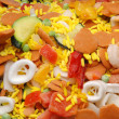 Frozen paella — Stock Photo #9387614