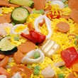 Frozen paella — Stock Photo #9387628