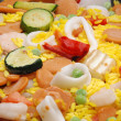 Frozen paella — Stock Photo #9387632