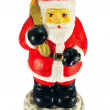 Candle - santa claus — Stock Photo #8800415