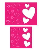 Card to Valentine — Stock Vector