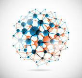 Esfera química — Vetorial Stock