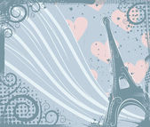 In Paris — Stock Vector