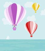 Air balloons — Stock Vector