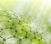 Molecular background — Stock Vector