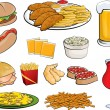 Stock Vector: Food Clipart