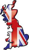 Groot-brittannië — Stockvector