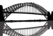 Sydney Harbour Bridge — Stock Vector