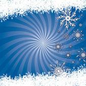 Snow Scene — Stock Vector