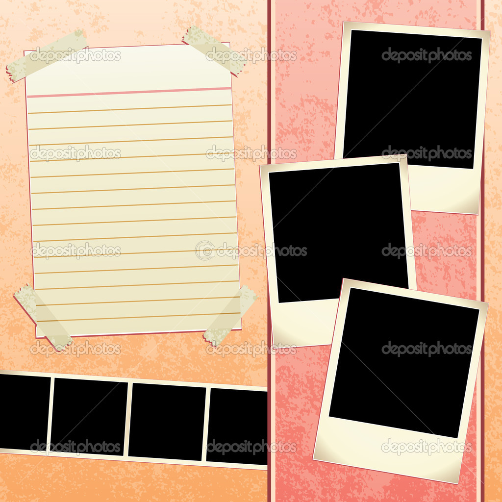 Scrapbook powerpoint template 28 images scrapbook template scrapbook powerpoint template scrapbook template stock vector 169 joeiera 8923637 toneelgroepblik Image collections