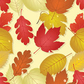 Autumn (seamless image) — Stock Vector