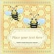 Royalty-Free Stock Vector: Label for homemade honey