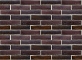 Wall of glazed bricks (precise seamless background) — Stock Photo