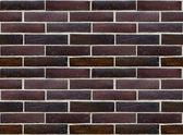 Wall of glazed bricks (precise seamless background) — Stock Photo