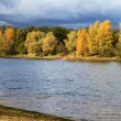 Dnipro river in the autumn — Stock Photo