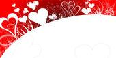 バレンタインデーのカード — ストック写真