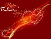 Happy Valentine's day card — Stockfoto