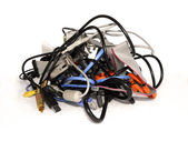 Computer cables — Stock Photo