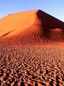 Sand dunes in Namibia — Stock Photo