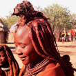 Namibian girls from himba tribe — Foto de Stock