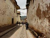 Straßen in cuzco, peru — Stockfoto