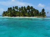 Paradise island, panama, San Blas — Stock Photo