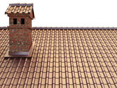Tile Roof — Stock Photo