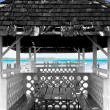 Old hut - tobago - bucco bay — Stock Photo