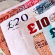 Stock Photo: English - British banknotes - Currency
