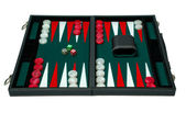 Backgammon board game — Stock Photo